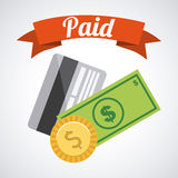 Paid design Royalty Free Stock Image