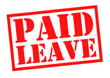 PAID LEAVE Stock Photo
