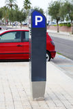 Paid parking Stock Image