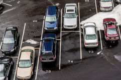 Paid Parking Lot Royalty Free Stock Photos