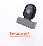 Paid Stamp Stock Photos