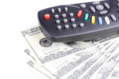 Paid TV. Royalty Free Stock Image