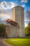 Paide. Castle ruins and tower at Paide. Estonia royalty free stock images