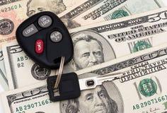 Paiement de véhicule Photos libres de droits