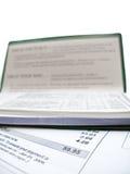 Paiement des factures Photos stock