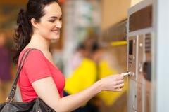 Paiement des honoraires de stationnement Image stock