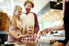 Paiement des marchandises Image libre de droits