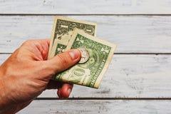 Paiement du concept de contribution de dette ou de prêt Photographie stock