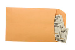 paiement illicite Images stock