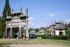 Paifang de China huizhou Fotos de archivo libres de regalías