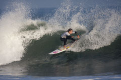 Paige Hareb at the Swatch Pro France Stock Image