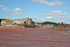 paignton пляжа стоковая фотография rf