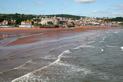 Paignton beach Stock Photography