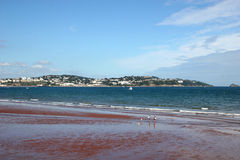 Paignton beach Stock Photos