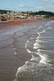 Paignton beach Stock Image