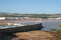 Paignton beach Royalty Free Stock Photo