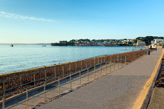 Paignton beach Devon England near Brixham Royalty Free Stock Photography