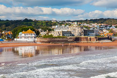 Paignton Beach Devon England Stock Photography