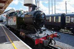 PAIGNTON DEVON/UK - JULY 28 : 4277 BR Steam Locomotive GWR 4200 Stock Images