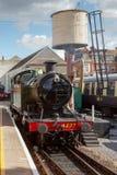 PAIGNTON DEVON/UK - LIPIEC 28: 4277 BR Parowa lokomotywa GWR 4200 Obraz Stock
