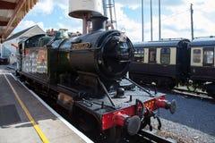 PAIGNTON DEVON/UK - LIPIEC 28: 4277 BR Parowa lokomotywa GWR 4200 Obrazy Stock