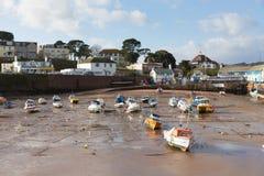 Paignton-Hafen Devon England Großbritannien Stockbild