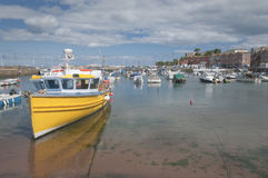 Paignton-Hafen Devon Großbritannien lizenzfreie stockfotos