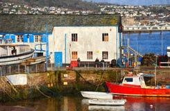 Paignton Harbour. Colourful Harbour, Paignton, Torbay, Devon England Royalty Free Stock Photography
