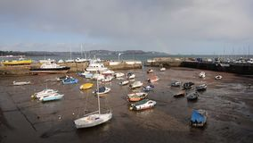 Paignton harbour Devon England uk stock video
