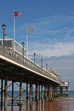 Paignton pier Royalty Free Stock Images