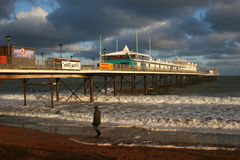 Paignton pier Stock Photography