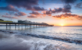 Paignton Pier Royalty Free Stock Photos