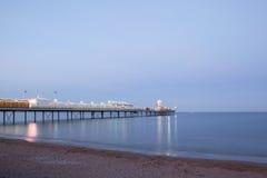 Paignton Pier, Devon, UK. Evening shot of Paignton Pier, Devon Stock Photography