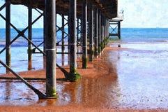 Paignton Pier. At Torbay, Devon, England Stock Photo