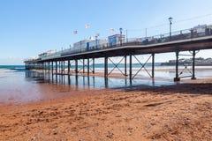 Paignton plaża Devon Anglia Obraz Stock
