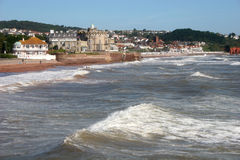 Paignton sea front Stock Image