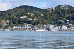 Paihia - Baai van Eilanden Nieuw Zeeland royalty-vrije stock foto