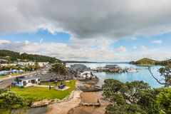 Paihia, Baai van Eilanden, Northland, Nieuw Zeeland royalty-vrije stock fotografie