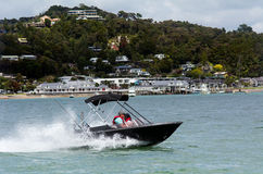 Paihia at the Bay of Islands New Zealand Royalty Free Stock Images