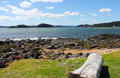 Paihia Beach New Zealand Royalty Free Stock Photos