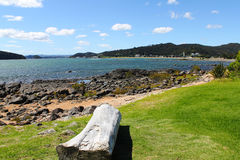 Paihia Beach New Zealand Stock Image