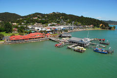 Paihia Waterfront Stock Photo