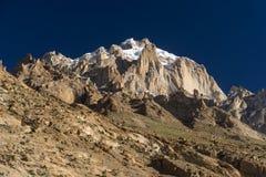 Paiju halny szczyt, jeden ikonowy szczyt w K2 trekking śladzie, Pa Fotografia Stock