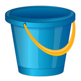 Pail from plastic arts Royalty Free Stock Image
