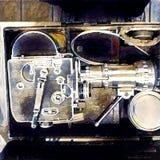 Paillard bolex. Modern art. Paillard bolex camera Stock Photography