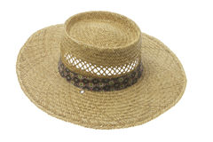 paille de chapeau Photographie stock libre de droits
