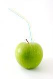 paille vert pomme Image libre de droits