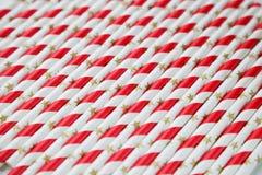 Pailles à boire de papier Image stock