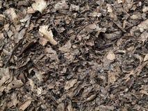 Paillis de compost de lame pour le fond Photographie stock libre de droits