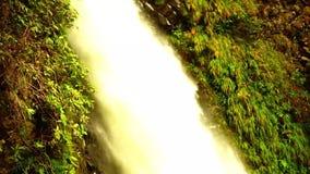 Pailon del Diablo, Tungurahua, Ecuador almacen de metraje de vídeo